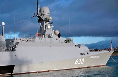 Введен в строй малый ракетный корабль «Ингушетия» проекта 21631