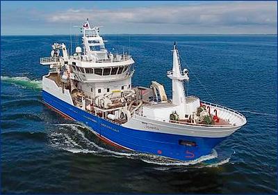 На Камчатку прибыл траулер-сейнер «Командор», построенный на ПСЗ «Янтарь»
