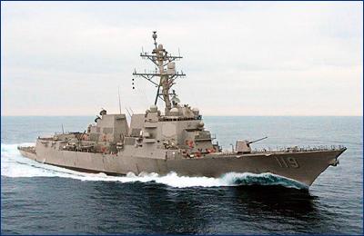 Поврежденный при строительстве эсминец подготовили к передаче ВМС США
