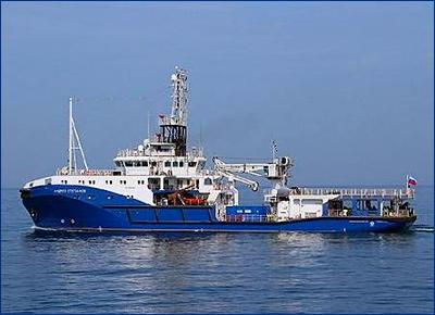 В Черном море продолжаются испытания буксира «Андрей Степанов»