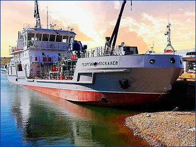 Новейшее экологическое судно для Байкала готовят к финальным испытаниям