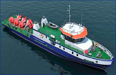 10 обстановочных судов построят для ФКУ «Речводпуть»