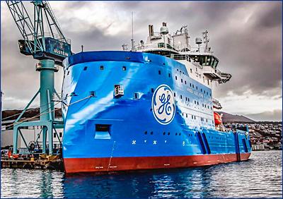 Ulstein Verft поставила гибридное судно следующего поколения Bernhard Schulte