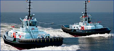 Damen поставит порту Антверпена два буксира серии RSD 2513