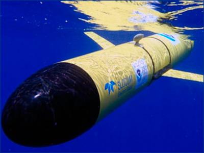 Необитаемый подводный аппарат обогнул Атлантический океан