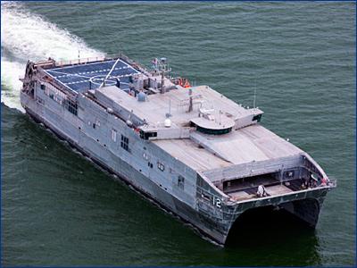 Austal USA передала ВМС США 12-й десантный корабль EPF
