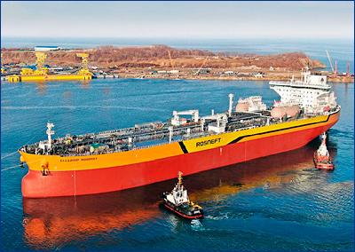 Запущен главный двигатель танкера типа Aframax «Владимир Мономах»
