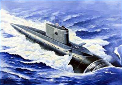 Дизель электрическая подводная лодка проекта 636.6.