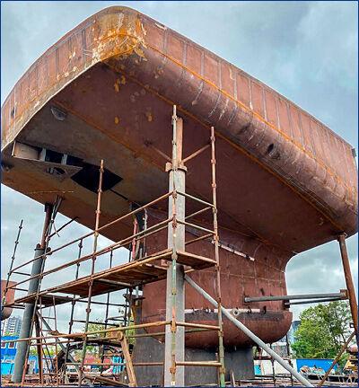 Damen Maaskant Shipyards Stellendam заложила два судна для бельгийского рыболовного флота
