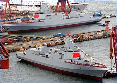 Китайские эсминцы-гиганты будут бить по спутникам