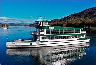 Damen передала круизное судно MV Swift компании Windermere Lake Cruises