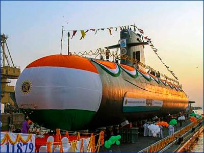 Vagir: пятая «Скорпена» индийского флота