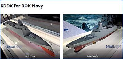 СМИ назвали основного кандидата на проектирование нового южнокорейского эсминца