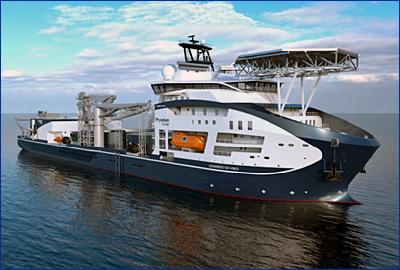 Wartsila поставит комплект двигателей для новейшего судна-кабелеукладчика группы Prysmian