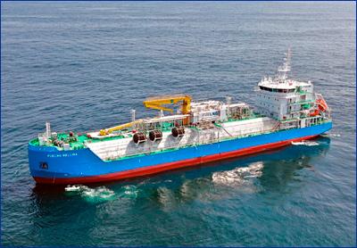 ABS и Keppel создали первое в мире интеллектуальное бункеровочное судно