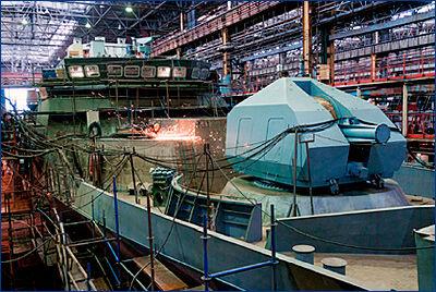 Россия раскрыла «судно будущего» 2070 года