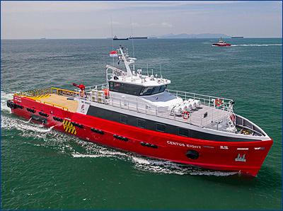 Strategic Marine получила быстроходный катер для доставки экипажа