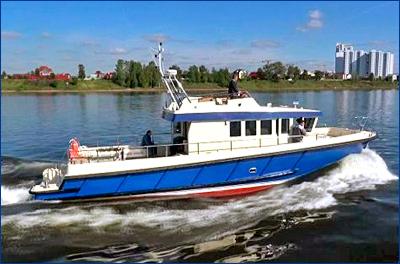 На СНСЗ завершились заводские ходовые испытания катера «Рондо»