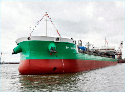 Танкер проекта RST27 «В.Ф. танкер – 12»