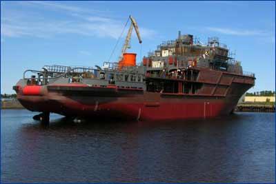 многофункциональное аварийно-спасательное судно мощностью 4 МВт