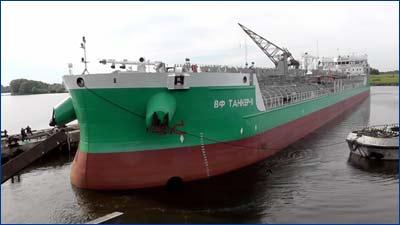 первый танкер «ВФ танкер - 11» проекта RST27 постройки Окской судоверфи
