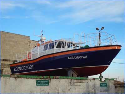 «Аквамарин» для порта Астрахань
