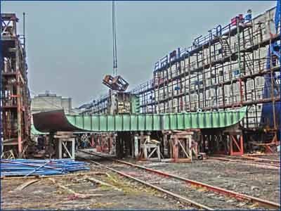 серийный танкер «Волго- Дон макс» класса проекта RST27