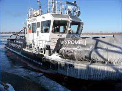 Азовский бассейновый филиал Росморпорта ввел в эксплуатацию второй ледокольный буксир-кантовщик