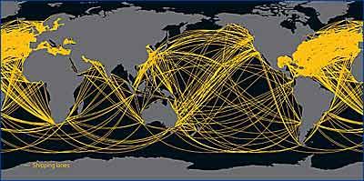 Корабельная копоть затеяла нечаянный геоинженерный эксперимент