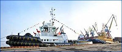 Голландские верфи Damen Shipyards построили два новых судна