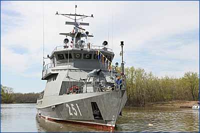 ВМС Казахстана пополнились новым ракетно-артиллерийским кораблем