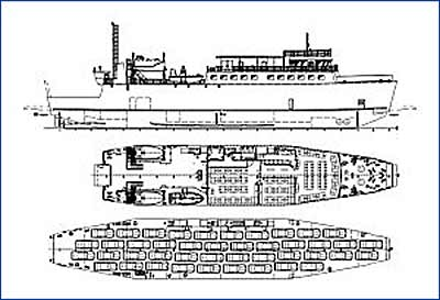 Паром проекта CNF12 спущен на воду на СЗ «Южный Севастополь»