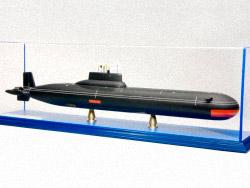 Модель подводной лодки 941 «Акула»