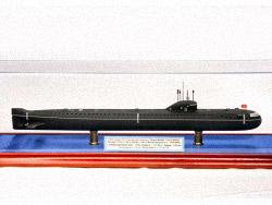 Модель подводной лодки 627 «Ленинский комсомол»