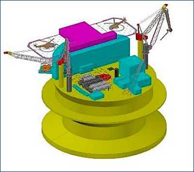 В Крыловском ГНЦ спроектирован новый объект для арктического шельфа