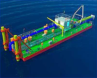 МССЗ принял участие в открытом конкурсе «Росморпорта» на строительство дноуглубительного судна