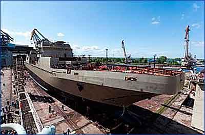 Флоту придется подождать БДК «Иван Грен» еще два года